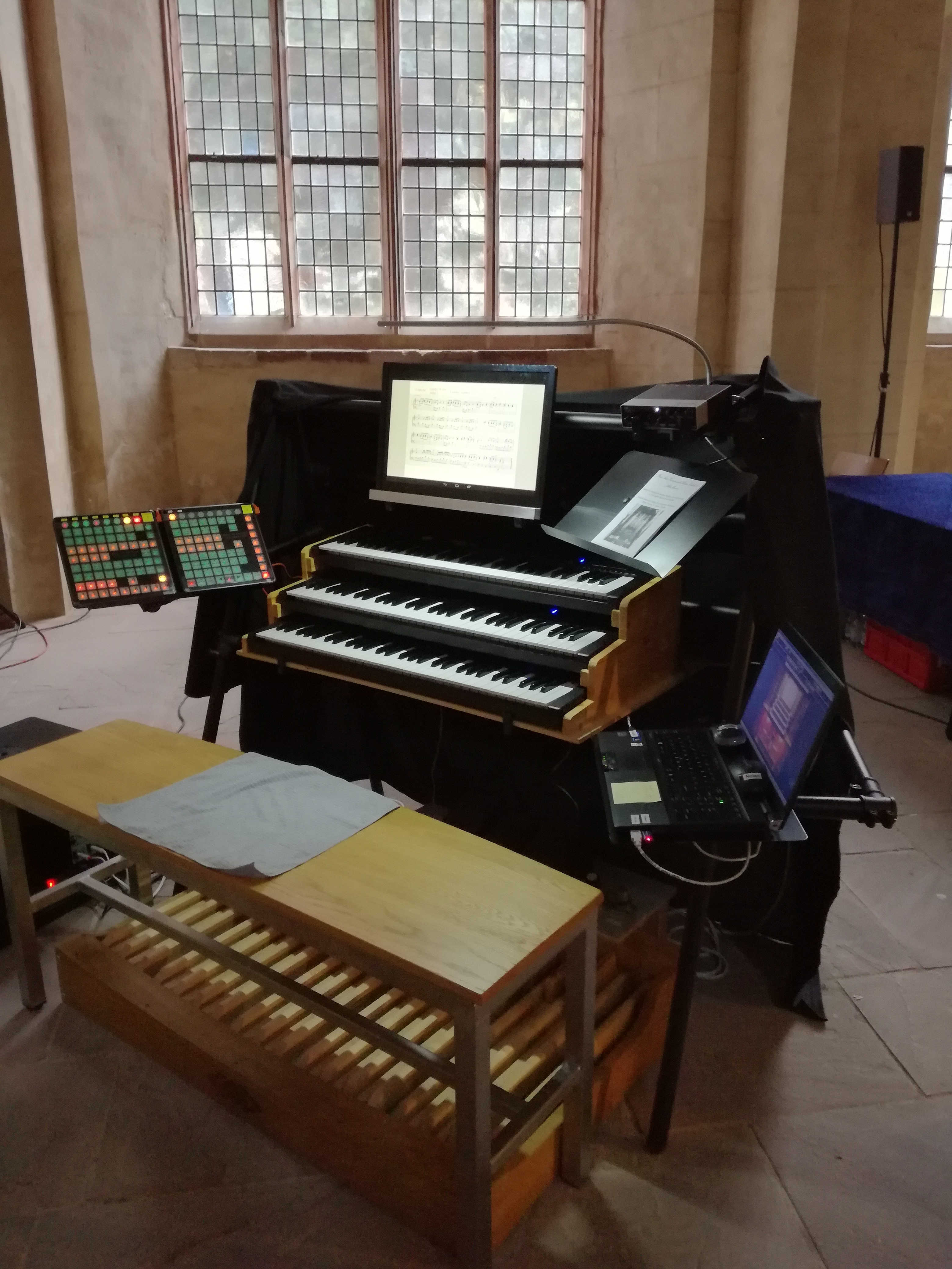 Mobile Orgel 1